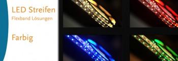 LED-Streifen farbig