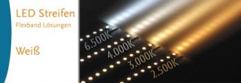 LED-Streifen weiss