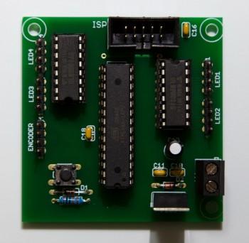 MoodLight Bausatz Platine/ICs