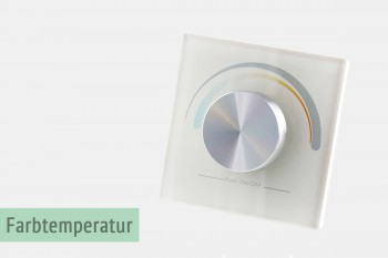Wandsteuerung für die Farbtemperatur-Reglung (LK55)