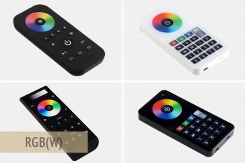 Handfernbedienungen für RGBW-Farbregelung (LK55)