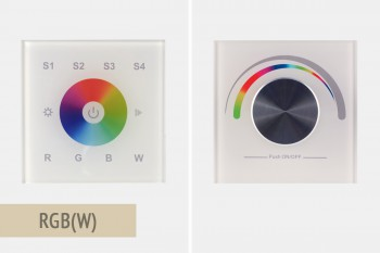 Wandsteuerungen für RGBW-Farbregelung (LK55)