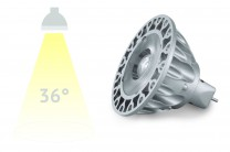 LED-Spot SORAA, 9 Watt, 36°