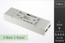 Z-Wave LED-Controller, 1-Kanal, 4x4A