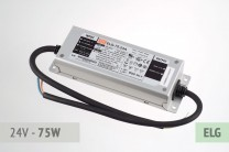 Netzteil 24V, 3A, 75 Watt, ELG-Serie