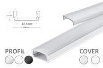 12mm LED-Micro-Profil PL1