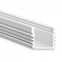 LED-Aufbauprofil PL2, 12mm, 2m, silber