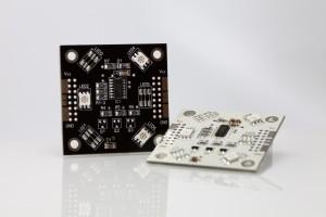 RGB-Pixel 50x50mm 3 LED inkl. Wannen/Kabel