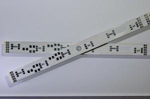 Twin-LED-Stripes Platine 12V 24,5cm