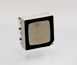 RGB-LED PLCC6 schwarz