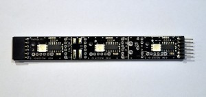 V2 PIX-Stripe gerade - 3 Pixel WS2801