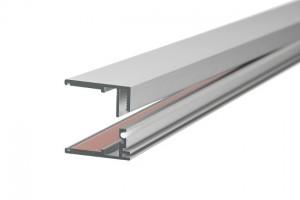 Glas-Aluprofil einstellbar 8-10mm