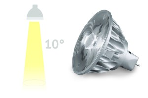 LED-Spot SORAA, 7.5 Watt, 10°