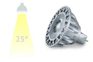 LED-Spot SORAA, 9 Watt, 25°