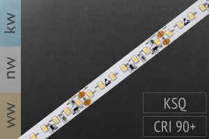 LED-Streifen 3020, 126LEDs/m, 2200lm/m, 24V, nur 10mm breit!