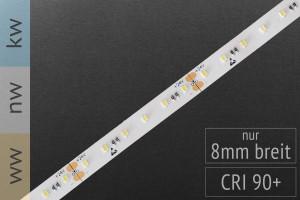 Akzent-Anwendungen: LED-Streifen 2216, 120 LEDs/m, 720 lm/m