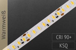 Super hell, Konstantstrom, CRI>95: LED-Streifen 5630, 126 LEDs/m, 2.300lm/m