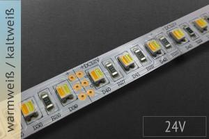 LED-Streifen mit einstellbarer Farbtemperatur, 24V