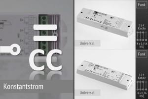LK55 CC Funk-Dimmer für LED-Spots u.a. mit Konstantstrom