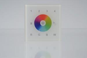 RGBW Wandsteuerung für LK55, 4 Zonen