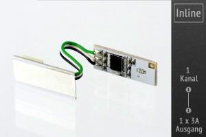 Mini Dimmer für Aluprofil 12-24V, 3A