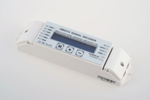 DMX to Digital-Converter, 5-24V (für 2801, 2811, 2812 ..)