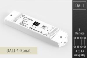 DALI-LED-Controller 4-Kanal, 4x4A