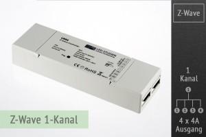 Z-Wave LED-Controller, 1-Kanal, 4x4A