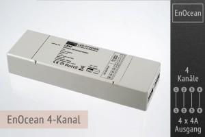 EnOcean LED-Controller 4-Kanal, 4x4A