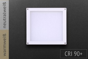 LED-Panel Quadrat, 10x10cm, 3W, 140lm