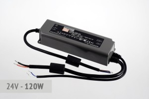 Dimmbares PWM Netzteil 24V, 5A, 120 Watt