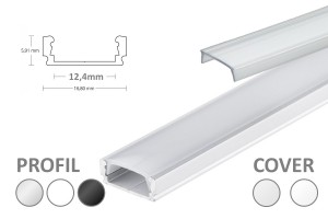 12mm LED-Micro-Profil PL1