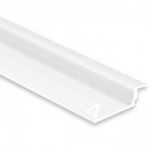 12mm LED-Einsatz-Profil PL8, 2m, weiß