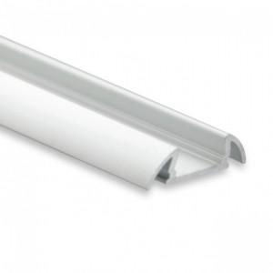 Aluprofil PO17 Aufbau 2m silber