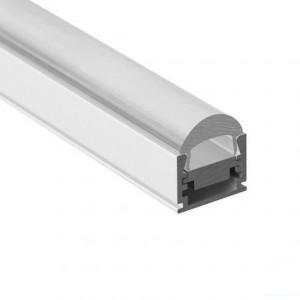 11mm LED-Aufsatz-Profil FOCUS, silber, 2m