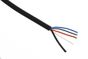 RGBW-Kabel, max. 8A, schwarz