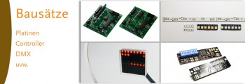 Platinen/Controller/DMX