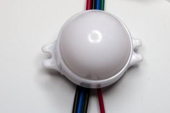 DMX-RGB-Pixel 30mm, Kette a 20 Stück