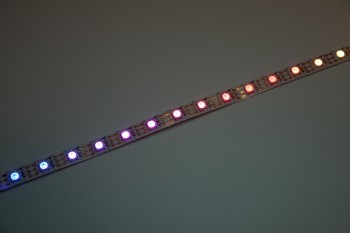 LED-Flexband digital WS2812B - 4m Rolle - 60 Pixel/m