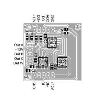 DMX Breakout-Board MY9942, manuelle Adressierung