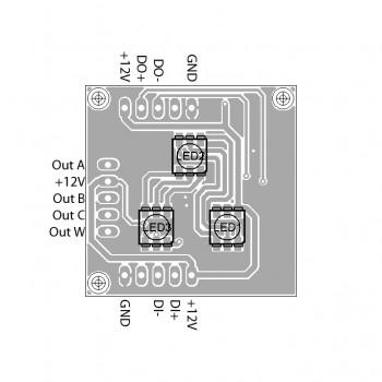 DMX Breakout-Board MY9941, Auto-Adressierung