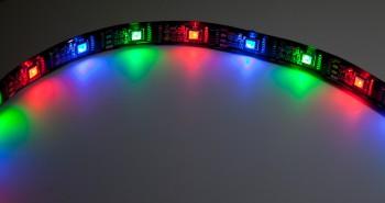LED-Flexband digital WS2801, komplette 5m-Rolle