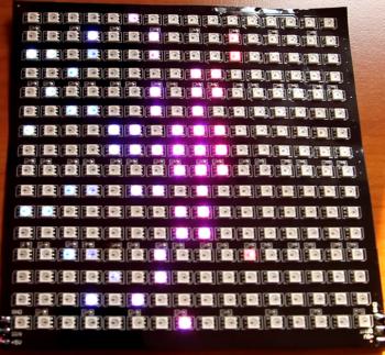 Matrix 16x16 Pixel 1cm Pitch