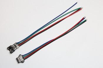 4-poliger Stecker/Kupplung für RGB