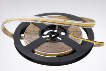 Neuheit: COB-LED-Streifen mit einstellbarer Farbtemperatur (CCT): 24 Volt - CRI>90