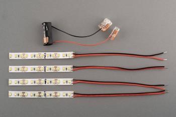 Musterset LED Farbtemperatur: 2.700 | 3.000 | 4.000 | 6.000K