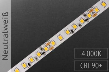 LED-Streifen 2835 NW 4000K - 120LEDs/m - CRI>90 - 24V