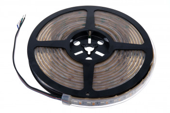 RGB+WW für Raumbeleuchtung: Helles Weiß - 120 LEDs/m - 24V - 5m - IP67