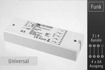 Funk-Controller universal | 4 x 6A