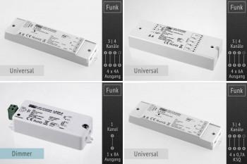 LK55 Universal Controller 12-36V für LED-Streifen, Panels u.a.